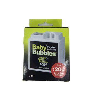 1 Left! Aquarium Baby Bubbles Portable Air Pump